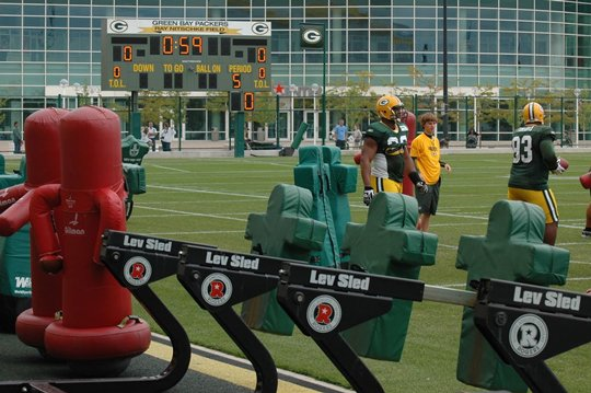 Green bay Packers 2011 Training Camp