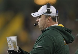 Green Bay Packers Coach Mike McCarthy