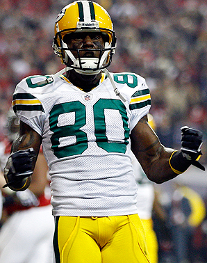 Packers WR Donald Driver