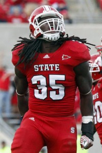 Packers fifth round draft pick Terrell Manning, LB NC State