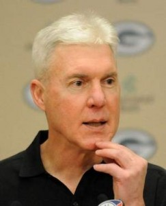 Packers GM Ted Thompson NFL Draft