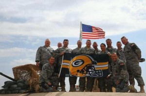 Military Packers fans