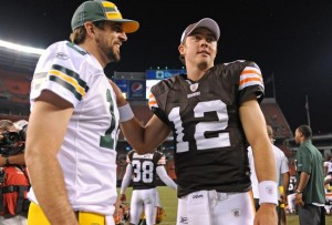 Aaron Rodgers and Colt McCoy