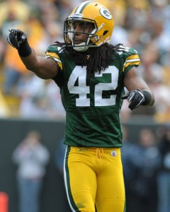 Green Bay Packers Safety Morgan Burnett