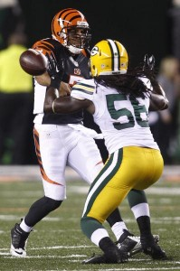 Terrell Manning Packers Bengals