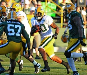 Packers RB Alex Green