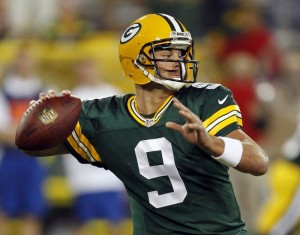 Packers Quarterback BJ Coleman