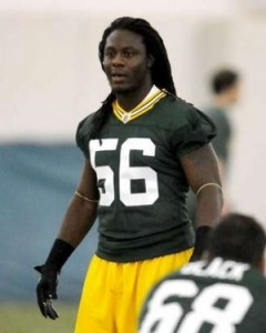 Packers LB Terrell Manning