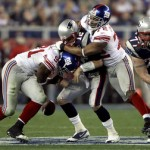 New York Giants defensive linemen Jason Pierre-Paul and Osi Umenyiora