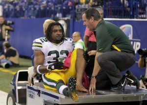 Packers RB Cedric Benson