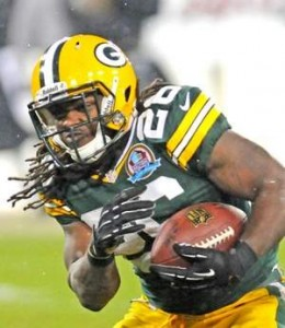 Packers running back DuJuan Harris