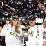 Rodgers and Matthews at Super Bowl XLV
