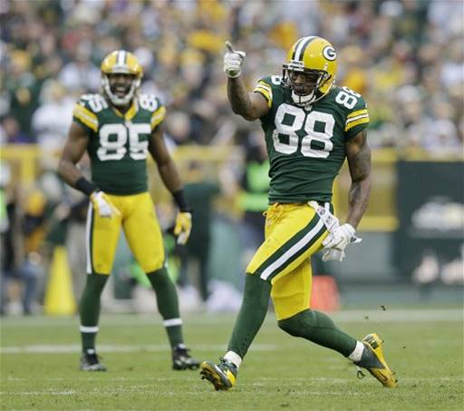 Packers TE Jermichael Finley and WR Greg Jennings could both be playing elsewhere in 2013.