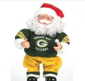 Packers Santa