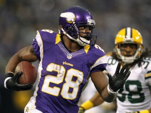 Packers Vikings Adrian Peterson