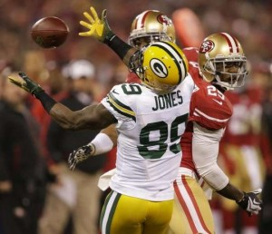 Packers - 49ers James Jones