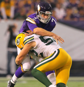 Christian Ponder - Packers Blitz