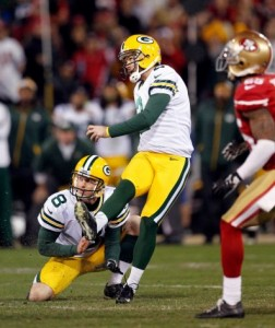 Mason Crosby Packers-49ers