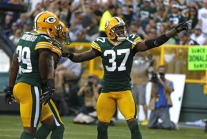 Packers Cornerbacks Sam Shields and Casey Hayward