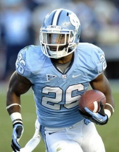 North Carolina RB Gio Bernard