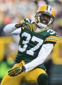 Sam Shields received the second-round tender