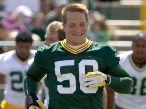 Packers LB A.J. Hawk
