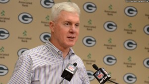 Packers GM Ted Thompson made a total of four trades during the 2013 NFL Draft.