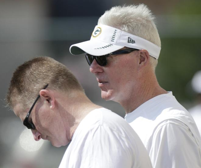 Green Bay Packers front office masterminds Russ Ball and Ted Thompson.