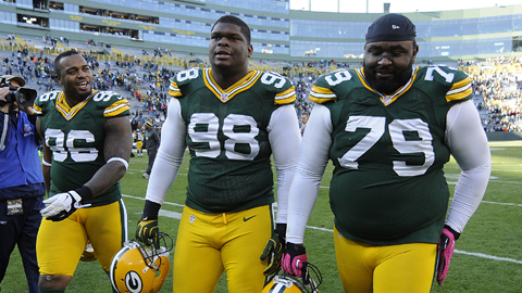 Packers defensive linemen Neal, Wilson, and Pickett are all set to become free agents in 2014.