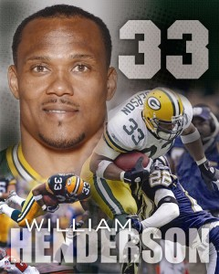 Packers Super Bowl Champion William Henderson