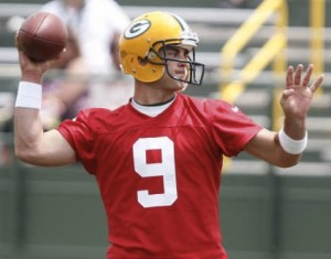 Graham Harrell has played in Green Bay's system longer than B.J. Coleman. But will Coleman's physical tools win him the backup quarterback job?