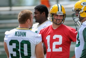 What I learned at Thursday's practice: Aaron Rodgers can throw a football.