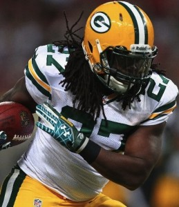 "Eddie Lacy may not get the first carry of the season, but he's the ""starter"" in my eyes."