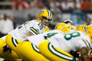 Packers quarterback Aaron Rodgers has been sacked 10 times already and pressured numerous more.