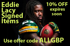 Eddie Lacy Signed Helmets and Footballs - Autographed Memorabilia and Collectibles