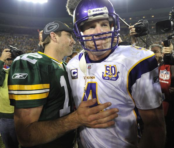 Brett Favre recently said no to play for the Rams. Would he say yes to a different team?