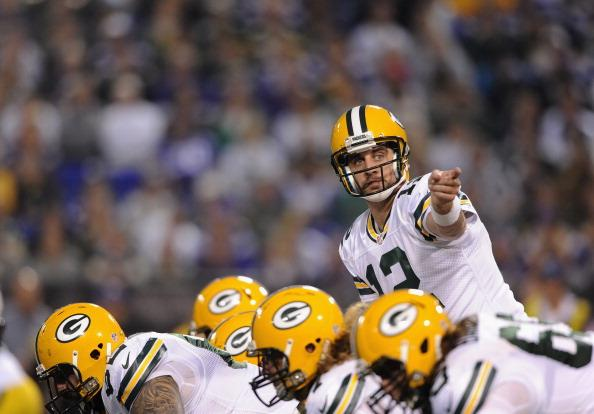 Aaron Rodgers has been playing without his top weapons for two weeks and hasn't missed a beat.