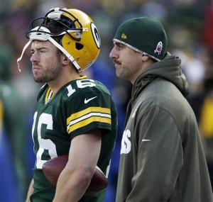 With Aaron Rodgers injured, the Packers are relying on Scott Tolzien at quarterback.