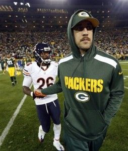 With the Bears behind them, the Packers will move on without Aaron Rodgers.