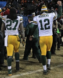 Eddie Lacy and Aaron Rodgers make the Packers a dangerous team in the playoffs.