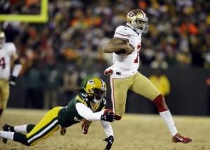Packers 49ers Wild Card Kaepernick