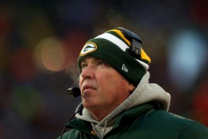 Mike McCarthy turned up the conservative calls when Aaron Rodgers went down in Week 9.