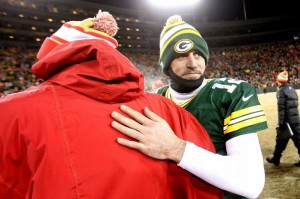 Aaron Rodgers and the Packers couldn't get past the 49ers, so their focus now shifts to 2014.