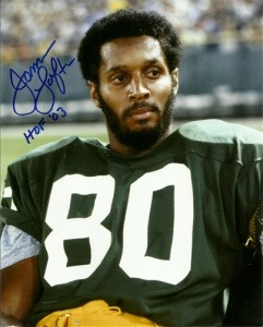 James Lofton Autographed photo