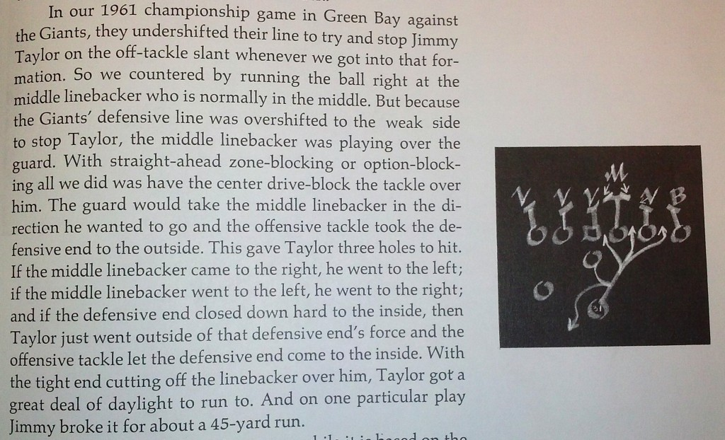 "An excerpt from the book ""Vince Lombardi on Football."" Fair use exceptions apply for the purposes of commentary and teaching."