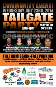 Tailgate Party Fundraiser