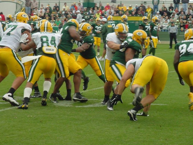 Packers Training camp fights