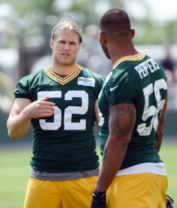 With Clay Matthews and Julius Peppers attacking the passer, more lanes should be open to sack the quarterback.
