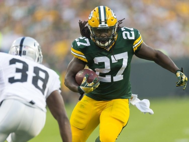 NFL, Green Bay Packers, Oakland Raiders, Packers preseason, 2014 Packers preseason, Aaron Rodgers, Eddie Lacy, Jayrone Elliott