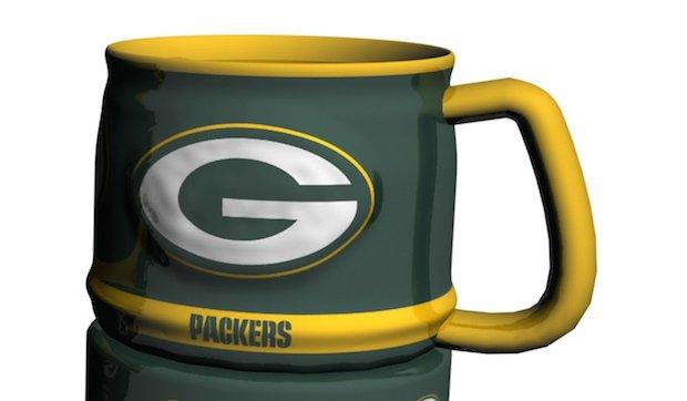 Green Bay Packers Beer Mug
